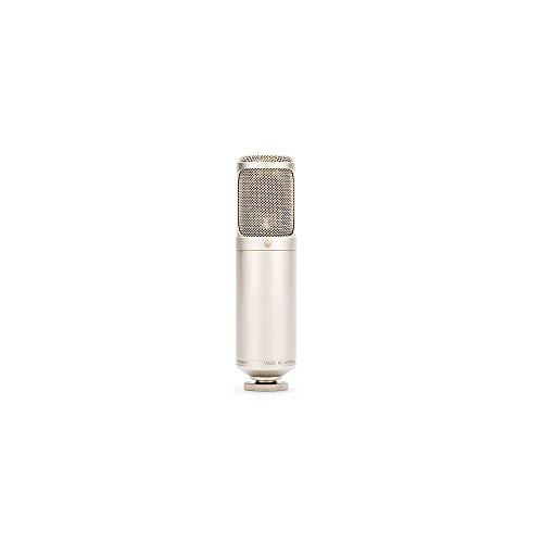Rode K2 - Micrófono (Etapa/rendimiento, 20-20000 Hz, Omni, Alámbrico, 815 g, Oro)
