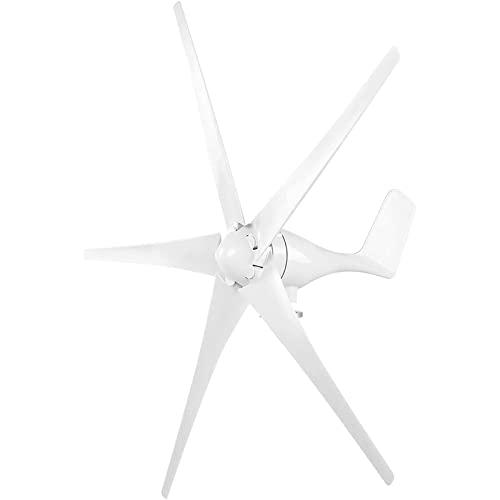 RUXMY Turbina eolica, Generador de turbina eólica, 400 W, turbina eólica para Empresas, Kit de 5 Palas para Barcos, terrazas, cabañas o Sistema de Viento Solar híbrido doméstico, 36 V / 48 V