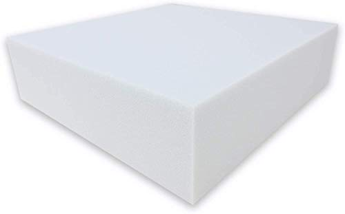 Dibapur ® White: Orthopädische Kaltschaummatratze/Akustikschaumstoff - H2 - Ohne Bezug - Made in Germany (90x200x5 cm)