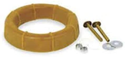Toilet Wax Ring by ProFlo – Toilet Bowl Flange Repair Kit with Closet Bolts – Fits 3 Inch and 4 Inch Waste Lines – Gas, Odor and Watertight Seal