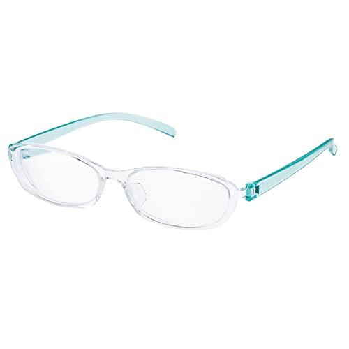 お風呂用メガネ 度入り 近視用 度数 -4.00 曇りにくい 錆びない 熱に強い 弾性樹脂フレーム 防水ケース付き【繰り返し使える 曇り止めメガネ拭き セット】