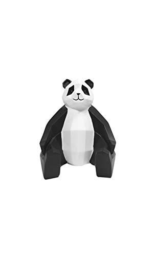 Present Time - Statue Panda Blanc et Noir Origami