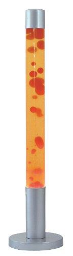 RABALUX 4111, Dovce, Glas, 40 watts, E14, Rot/Gelb/Silber, 18.5 x 18.5 x 76 cm