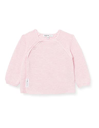 Noppies U Cardigan Knit LS Pino Suter crdigan, Light Rose Melange P799, 62 Unisex bebé