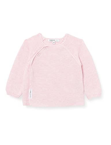 Noppies U Cardigan Knit LS Pino Suter crdigan, Light Rose Melange P799, 68 Unisex bebé