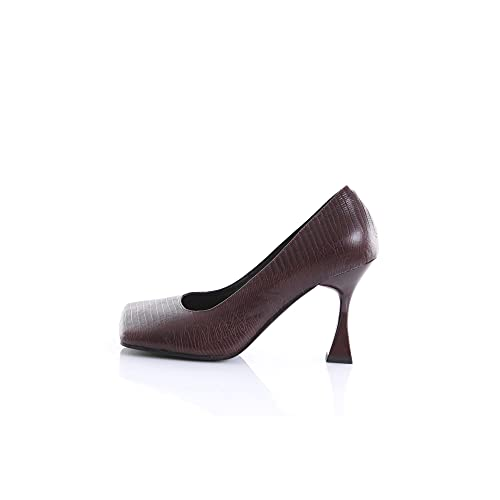 Jeffrey Campbell JC86622 Chaussures à Talon pour Femme - - Marron foncé, 37 EU EU