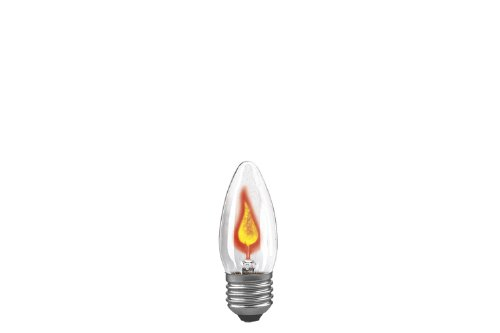 Preisvergleich Produktbild Paulmann 531.00 Flackerkerze 3W E27 Flackerlicht Feuer Flimmerlicht Flamme 53100 Leuchtmittel