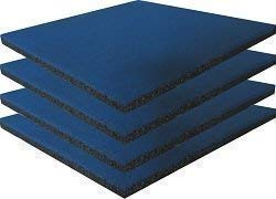 Loggyland Fallschutzmatte blau 4er Set