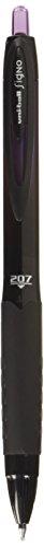 uni-ball 207 BLX Infusion Retractable Gel Pens, Medium Point (0.7mm), Purple/Black, 12 Count