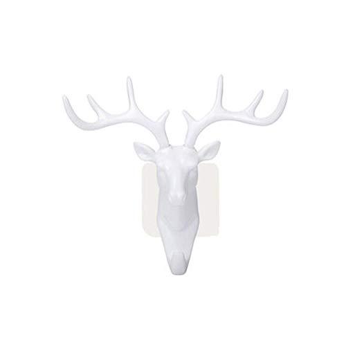Herten kop muur dier kledingrek hanger lijm Cape Vista Keys decoratie slaapkamer muur pocket deuren,03