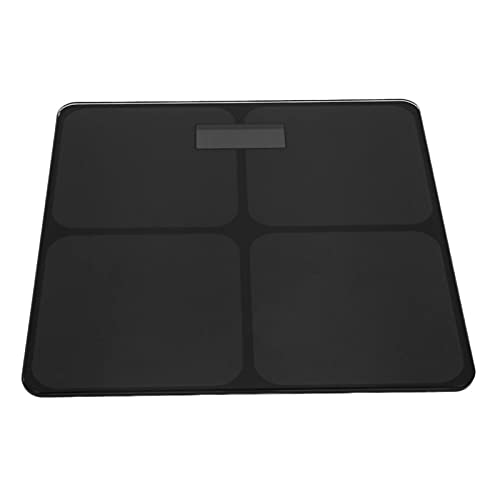 JSJJAUJ Corporal Báscula Black Electronic High-Precision Smart Weight Scale Home Healthectronic Scale Peso de Peso Adulto (Color : Black)