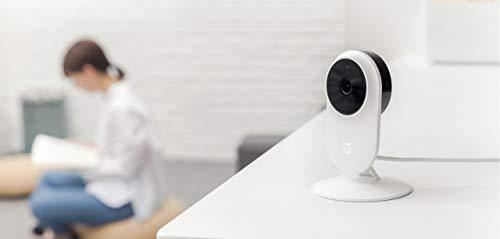 Xiaomi Home Security Camera Basic 1080P Überwachungskamera (1080P Full-HD, 20fps, 130° Ultra Weitwinkel, Nachtmodus, 2-Wege-Audio, BSI-Sensor, IP65, iOS/Android App-Steuerung)