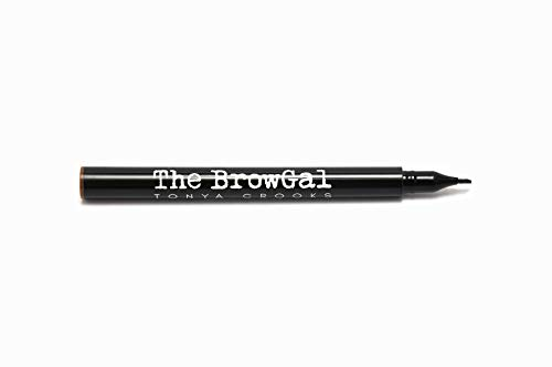 The BrowGal Ink It Over Microblading Tattoo Pen, Brown Hair