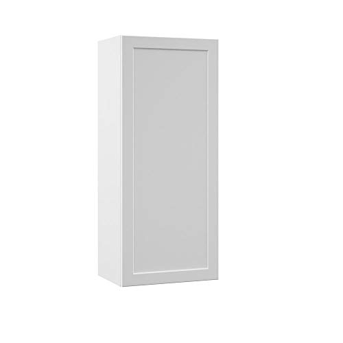 Melvern Assembled 18x42x12 in. Wall Kitchen Cabinet in White