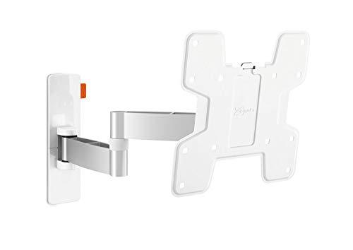 Vogel's Soporte de pared para TV de 180° giratorio e inclinable – pared 3145W para televisores de 19 a 40 pulgadas, color blanco (renovado)