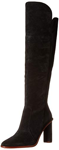Vince Camuto Women's Palley Over-The-Knee Boot, Black, 8.5
