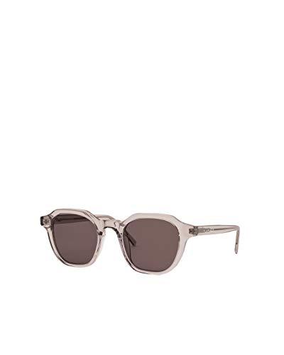 Flamingo Eyewear Gafas de sol modelo Morgan Grey cuadradas en color gris trasnparente
