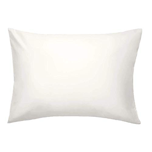 Brooklinen Cream Luxe Pillowcases - Set of 2 - 100% Long Staple Cotton with Envelope Closure - King...