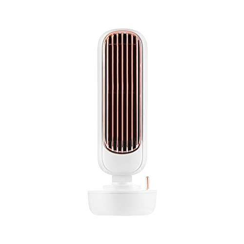 Ventiladores de Sobremensa Ventilador de Mesa USB Ventilador USB, Ventilador Silencioso y Giratorio, Pequeño Ventilador de Escritorio con 3 Niveles de Velocidad, Adecuado Para Oficina, Familia,Blanco