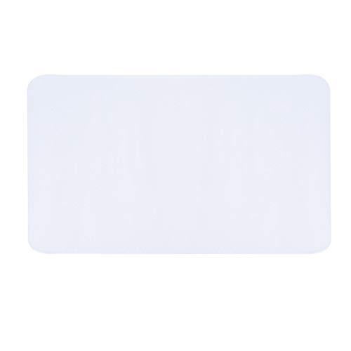 Tappetino per sedia, 35,4 * 47,2 pollici Tappetino rettangolare per moquette Copertura protettiva per pavimento trasparente Fondo con borchie Home Office