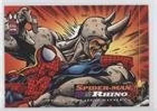 Spider-Man; Rhino (Trading Card) 1994 Fleer Marvel Cards The Amazing Spider-Man - [Base] #106