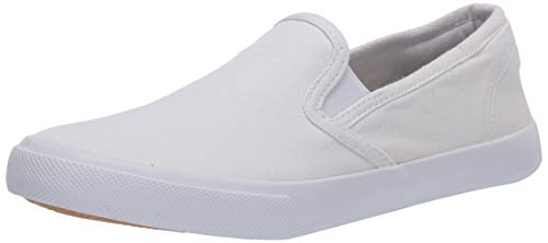 Amazon Essentials Frances Fashion-Sneakers, Blanco, 8 M US