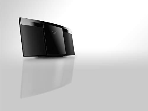 Panasonic SC-HC200 Micro-Stereoanlage 20 W Schwarz (Micro-System, Schwarz, 1 Stück, 20 W, 1-Wege, FM)