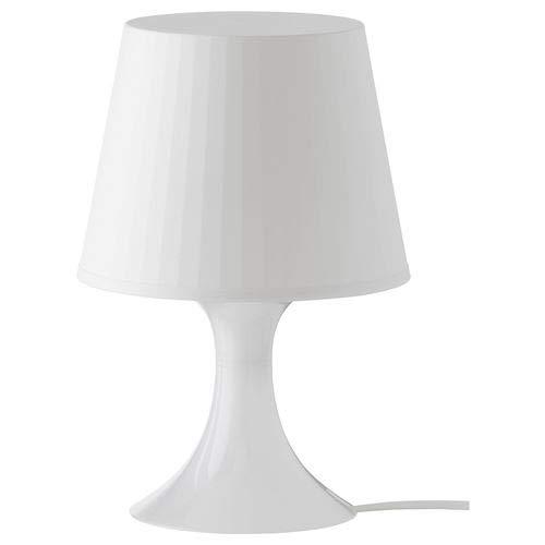 IKEA Lampan Tischleuchte weiß