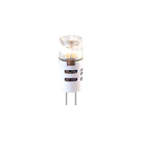 Garden Lights GL6204451 A+, LED blanc chaud, verre, 2 W, G4, noir, 0,1 x 0,1 x 0,1 cm