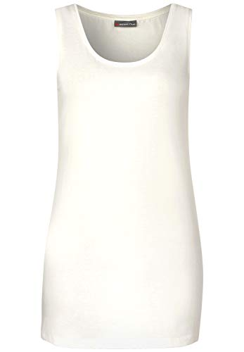 Street One 313170 Layri Camiseta sin Mangas, Marfil (Off White 10108), 48 para Mujer
