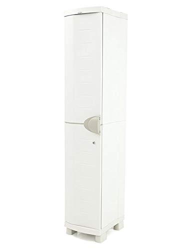 Plastiken Taquilla SPACE SAVER 35 cm color BEIG (35cm de ancho x 45cm de hondo x 184 cm de alto)
