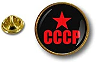 Akacha Spilla Pin pin's Spille spilletta Bandiera Badge Comunista Russa URSS CCCP r1