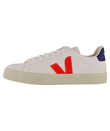 Veja Herren Sneaker Pack Man Campo Chromefree Weiss/orange (903) 44EU