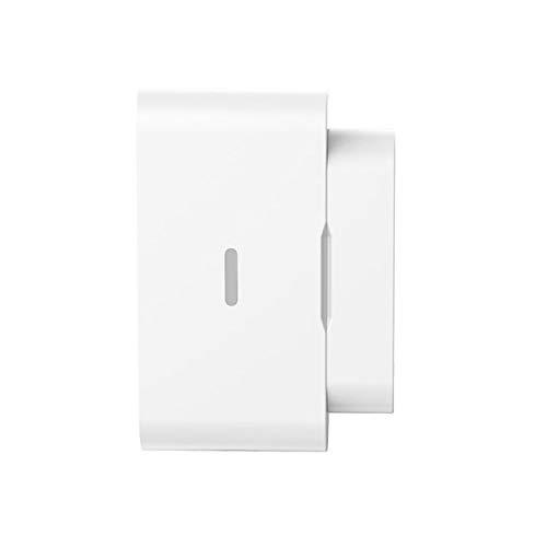 Sensor de puerta de ventana inteligente inalámbrico, detector de alarma de sensor de puerta WiFi, alarma en tiempo real, sensor de apertura de puerta, monitoreo remoto con notificación de programa