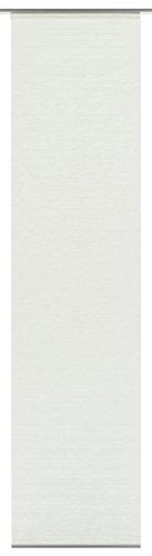 Gardinia Flächenvorhang Natur-optik Natur-optik weiß 60 x 245 cm