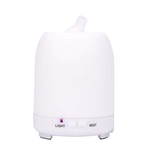 WO NICE 200 ml ultrasone luchtbevochtiger mini etherische olie aroma diffuser elektrische huishoudluchtreiniger met kleurrijke LED-lampen
