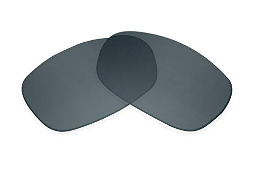 SFx - Lentes de repuesto para gafas de sol compatibles con Ray-Ban RAJ1554 RC007 60 mm (polarizadas SFx-Diamond Black Onyx par)