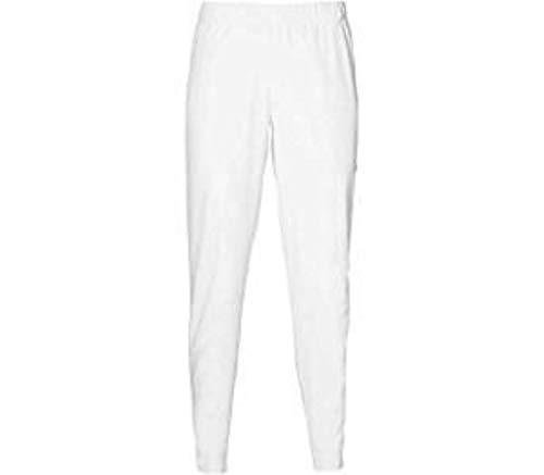 ASICS Practice - Pantaloni Sportivi da Donna, Taglia M, Colore: Bianco, Nero