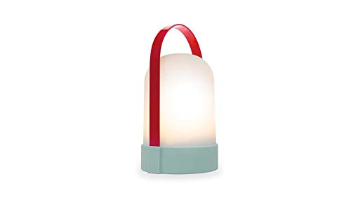 Remember Unisex– Erwachsene Anabelle Leuchte, rot, 24,8 cm