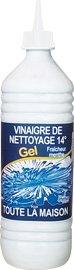 PHEBUS Aceto super potente in gel, 14°, aromatizzato alla menta, quantità: 1 l