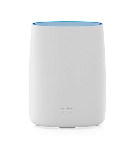 Netgear Orbi LBR20-100EUS - Router WiFi Tribanda con módem 4G LTE incorporado para Internet primario o de respaldo, Cobertura de hasta 125 m2 y más de 20 dispositivos, WiFi AC2200 (hasta 2.2 Gbps)
