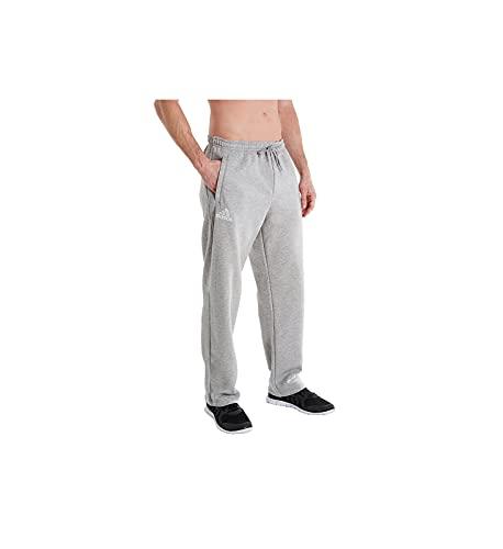 adidas Climawarm Fleece Pant Men's Multisport XL Medium Grey Heather-White