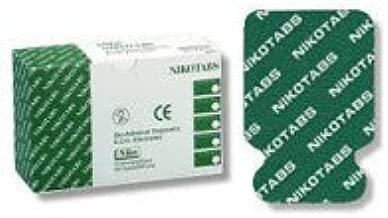 5698488 PT# NIK0515 Electrode Resting EKG Nikotabs Ag/AgCl Standard 23x34mm 100/Pk Made by Nikomed, USA Inc