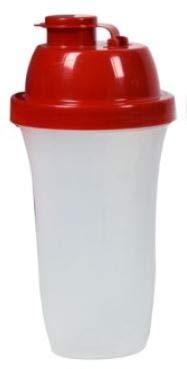 Maury's Bottiglia mixer/Shaker ideale Per Lo Sport, graduata in plastica con tappo dosatore ermetico colori assortiti