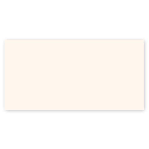 25 altweiße Blankokarten, Postkarten DIN lang (stabiler Karton: Munken Pure 300 g/qm), komplett unbedruckt