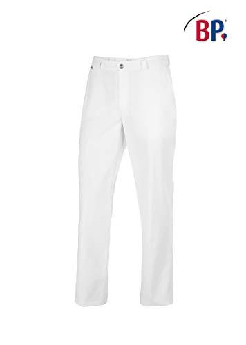 BP 1368-686-21-50n Hose für Männer, mit Taschen, 230,00 g/m² Stoffmischung mit Stretch, weiß ,50n