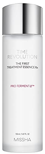 MISSHA Time Revolution The First Treatment Essence RX 150ml - Essence/Toner That Moisturizes and Smoothes The Skin Creating A Clean Base