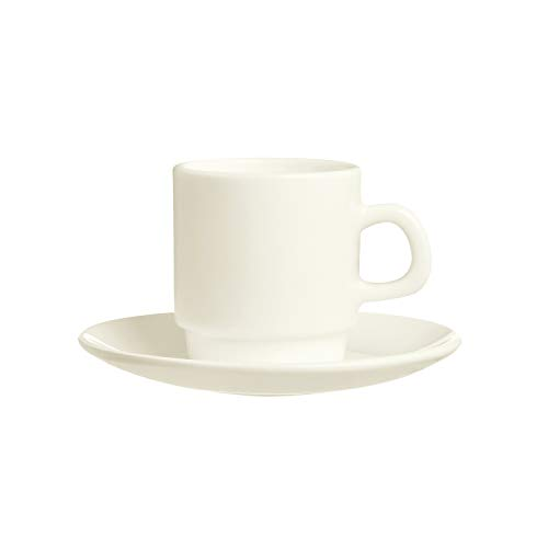 Arcoroc Intensity-Set Kaffeetassen aus Zenix, 9 cl, 12 Stück
