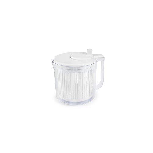 H&H d928Centrifugadora Ensalada, Plástico, Blanco/Transparente, 21.5x...