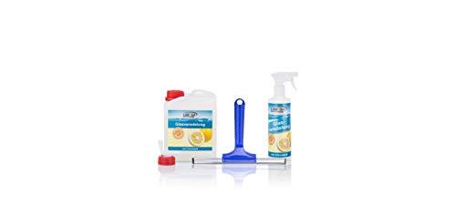 Glasveredelung Zitrus von Lakosa 2,5 Liter - für die leichtere Reinigung Ihrer Glasflächen